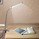 Eye Protection Led Clamp Light Study Lamp With Usb Charging Port Multi Angles Led Lamp Reading Light Desk Table Lamp Silver Intl On China