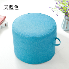 Solid Color Fabric Futon Throw Pillow Living Room Stool Teapoy Table Throw Pillow Washable Round Throw Pillow Thick Tatami Throw Pillow By Taobao Collection.