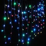 Compare Fairy Curtain Lights 3M 100 Led Multi Color Battery Operated