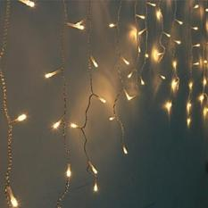 For Sale Fairy Curtain Lights 3M 100 Led Warm White Battery Operated
