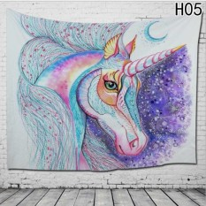 Fancyqube 3D Unicorn Fantasy Tapestry Wall Hanging H05 - intl
