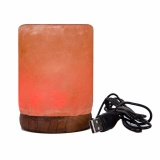 Buy Cheap Fancyqube Himalayan Salt Lamp Hand Carved Natural Crystal Wall Dimmer Night Light 220V Random Intl