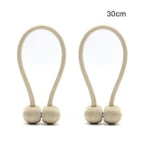 Buy Fang Fang One Pair Curtain Buckle Creative Curtain Bind Europe Type Curtain Magnetic Tie Back 30 Cm Beige Intl Oem
