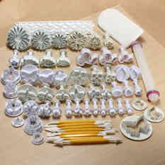 Price Comparisons Fashion About 68 Pcs Home Kitchen Utensils Fondant Cake Mold Decorating Sugarcraft Plunger Cookie Cutter Baking Tools Molds Mould