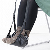 Fashion Portable Cotton Knitted Footrest Flight Carry On Foot Hammock Office Foot Stand Desk Feet Rest Intl Best Buy