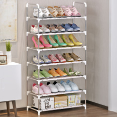 Home Simple Folding Combination Shoe Rack