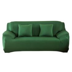 Uebfashion Fashion Slipcover Stretchable Sofa Cushion Cover(Green)-2 seats - intl