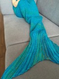 Buy Fashion Stripe Knitted Mermaid Tail Design Blanket For Kids Intl Not Specified Online