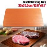 Discount Fast Rapid Thawing Defrosting Tray Kitchen Safe Defrost Thaw Frozen Meat Food Intl Not Specified China