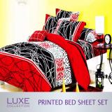 Retail Festive Design Bed Sheet Set Fitted Bedsheets