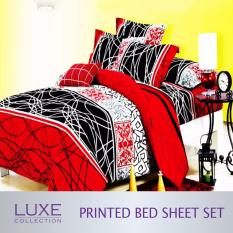 Review Festive Design Bed Sheet Set Fitted Bedsheets On Singapore