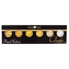 Compare Price Finetec Calligraphy Metallic Gold Colour Set Hand Made In Germany 6 Colour On Singapore