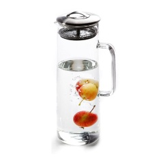 Fisca 1 5L Glass Water Carafe Water Jug With Lids For Sale Online