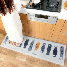 Buy Fish Kitchen Bathroom Bedroom Mat Online
