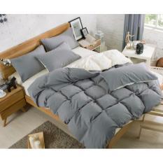 Sale Fitted Bedsheet Sets Bedsheet Set Grey Singapore