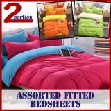 Fitted Bedsheets Single Orange On Line