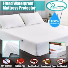 Dream Comfort Premium Fitted Waterproof Hypoallergenic Noiseless Mattress Protector Comfortable Vinyl Free Protection From Dust Mites Allergens Perspiration And Fluid Spills Compare Prices