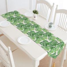 Price Flamingo Fresh American Tropical Plant Printed Table Runner Oem