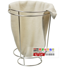 Price Flannel Coffee Red Bag Does Not Rust Steel Ice Coffee Red Frame Follicular Coffee Drip Coffee Hand Punch Coffee Filter Holder On China