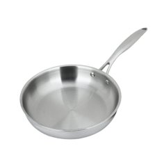 Sale 24 Cm Fuel Gas Cooker Frying Pan Flat Bottom Pot Oem Cheap