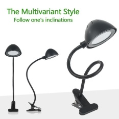 Compare Flexible Usb Led Study Reading Light Clip On Bed Table Desk Lamp Black Hot Sale Intl Prices