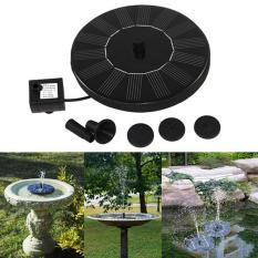 Floating Solar Powered Pond Garden Water Pump Fountain Pond For Bath Tank - intl