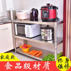 Great Deal Floor To Ceiling Multilayer Stainless Steel Microwave Oven Shelf