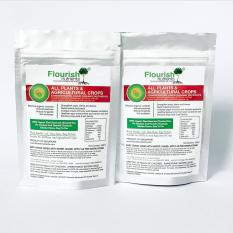 Low Cost Flourish Nutrients All Plants And Agricultural Crops Concentrated Liquid Organic Fertilizer 200Ml
