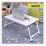 Who Sells White Foldable Bed Table Compact Light Weight Movable Portable Small Size Laptop Stand Desk Pc Notebook Study Bookshelf On Bed Gift Present Cheap