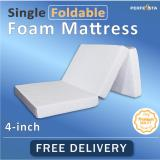 How To Buy Single Foldable Foam Mattress 10Cm Thickness Removable Cover Knitted Fabric Fast Delivery