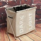 Buy Foldable Laundry Sorter Hamper Clothes Storage Basket Bin Organizer Washing Bag Intl Singapore
