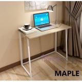 Price Foldable Modern Study Computer Table Space Saving Office Study Desk Student Laptop Pc Coffee Side Compact Oem Singapore