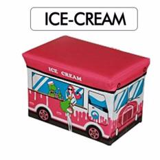 Foldable Storage Box Large 50 32 32Cm Ice Cream Promo Code