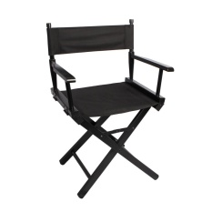 Folding Makeup Artist Director Chair Black Outdoor Camping Fishing - intl furniture
