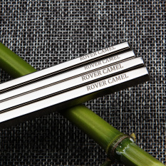 Football Wins Outdoor Titanium Solid Chopsticks Square Titanium Chopsticks Pointed Couple Chopsticks Suit Portable *d*lt Family Pack Discount Code