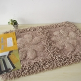 Foreign Trade Cotton Carpet Cotton Long Haired Mats Suede To Doormat Bathroom Slip Mat Cotton Towel Free Shipping Coupon