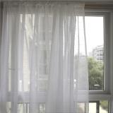 Buy Semi Sunlight Blocking Gauze Curtain White China