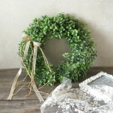 Price Comparisons Of Four Season Big Sale Artificial Leaf Wreath With Bow Door Hanging Wall Window Decoration Wreath Holiday Festival Wedding Decor Style A Intl
