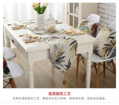 Mediterranean-Like Table Runner Tablecloth Vintage Torrid Zone Railen Plate Between Teapoy Table Natural Detox-Village Tablecloth Bed Runner By Taobao Collection.