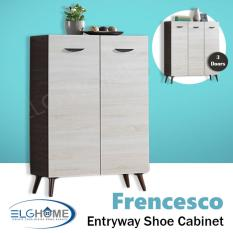 List Price Frencesco Contemporary Entryway Shoes Cabinet Sc1402 Free Install Delivery Oem