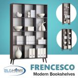 Sale Frencesco Multifunction Bookshelves Triplet Free Install Delivery Oem