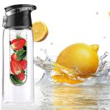 Cheaper Fruit Infusing Water Bottle Lemon Juice Maker Cap Fruit Infuser Bike Travel Sch**l Sports Health Cup Intl