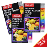 Best Price Fullmark Premium Inkjet Glossy Paper Photo Paper Value Set A3 Size 29 7Cm X 42Cm Each 3 Packs 20 Sheets Per Pack Compatible With Hp Canon Epson Lexmark And All Leading Inkjet Printers
