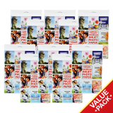 Buy Fullmark Premium Inkjet Photo Paper Ultra Value Set A4 Size 21Cm X 29 7Cm Each 10 Packs 10 Sheets Per Pack Compatible With Hp Canon Epson Lexmark And All Leading Inkjet Printers Cheap Singapore
