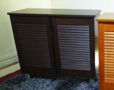 Price Compare Furniture Living Shoe Cabinet Walnut