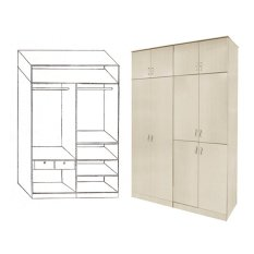Sale Furniture Living Swing Open Door Cabinet White Wash Online On Singapore