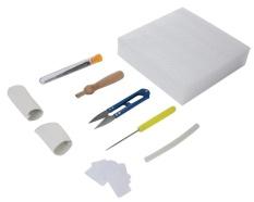 Fuskm Needle Felting Kit Wool Felt Tools Needles Craft Kit With Storage Plastic Box Random Color Intl Reviews