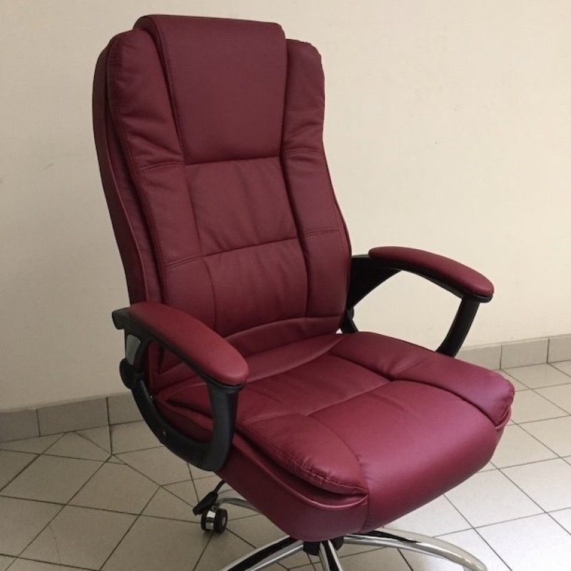 Genuine Leather Boss Chair 338 (Free Installation) Singapore