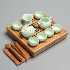 Discount Zhensheng Home Tea Set Tea Cup Bamboo Tea Tray Tea Sea Oem China