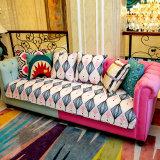 Modern Fabric Cotton Sofa Cushion Four Seasons Slip Cushion Review